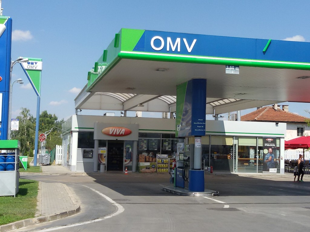 OMV - Petrol station, autogas, car wash